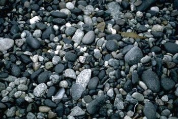 Decorative rock is available in many colors and textures, giving you flexibility when creating your riverbed.