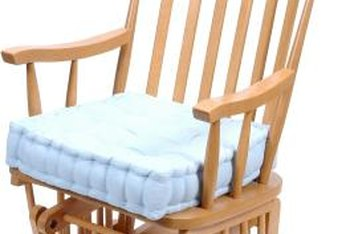 Cushions Can Definitely Make Your Wooden Rocking Chair Feel Cozier