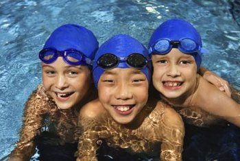 Proper chlorine levels keep your family safe while playing in the water.