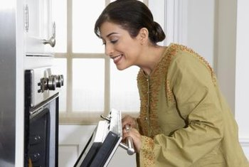 Clean ovens regularly so dirt doesn't build up or become burnt on.