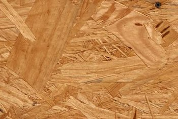 Plywood and OSB are standard sheathing choices.