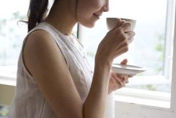 The scent of jasmine in tea has a calming effect.