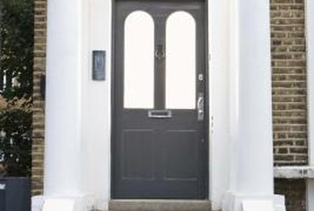 Reduce energy costs by weatherstripping old doors.