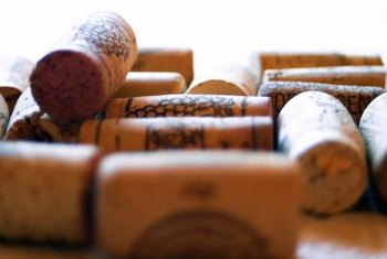 Re-purposed wine corks are transformed into lovely gifts.