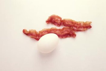 Eggs might be a good breakfast food, but avoid its companion, bacon.