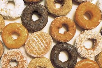 Doughnuts often contain partially hydrogenated oil.