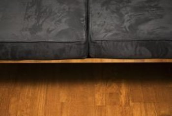 Polyurethane comes in sheets that you cut to fit your furniture.