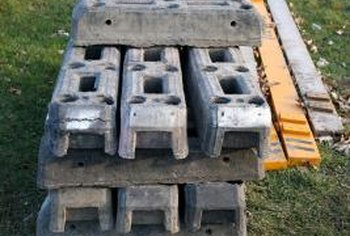 Consider how you'll store cinder blocks when the growing season is over.