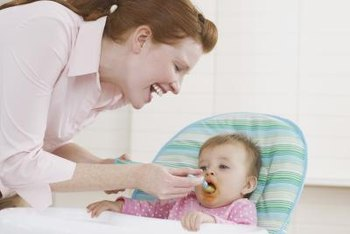 Not all babies will eat the same amount and types of foods.