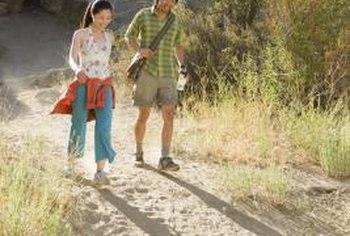 Walking can help you lose weight, as long as you don't compensate by overeating.