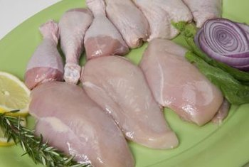 Chicken is a good source of both zinc and niacin.