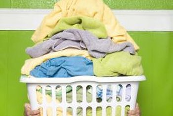 Laundry chutes eliminate the need to carry heavy, overfilled laundry baskets.