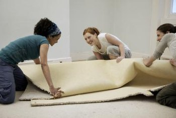 Removing old carpet before the installers arrive may help reduce labor costs.