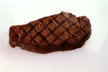 Cutting out red meat may make it easier to lose weight.