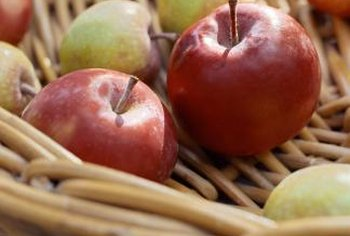 Dipping apples in sauce makes this healthy snack more interesting.