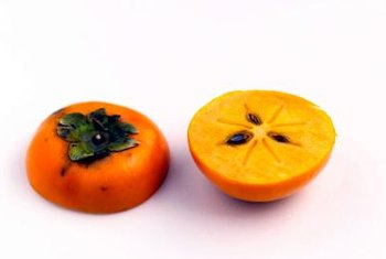 """Eureka"" persimmons are astringent varieties that typically have seeds."