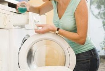 Some Energy Star washing machines have fabric sensors to adjust water settings automatically.