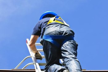 Make sure your ladder is tall enough to allow you easy access to your roof.