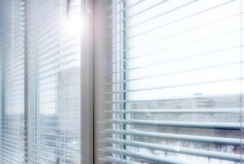 Easiest Way To Clean Miniblinds In An Apartment Home