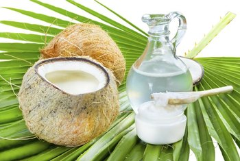 Coconut oil is a good source of medium-chain triglycerides.