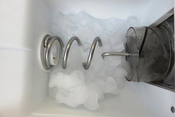 In-line water pressure regulators prevent damage to ice makers.