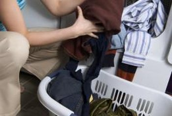 Help avoid future scratches by setting laundry baskets on a table or floor.