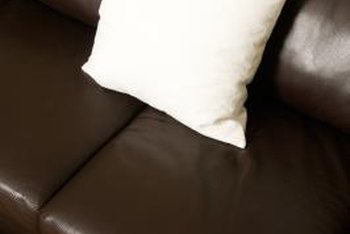 You can repair small tears in leather furniture without professional assistance.