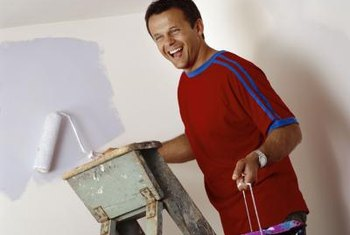 Priming is an important step in many interior painting projects.