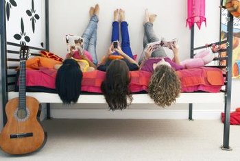 Involve your teen in the planning for her new bedroom decor.