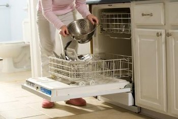Some smells are normal for a new dishwasher.