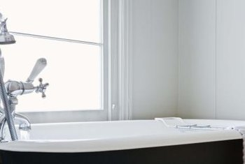 Bathtubs require basic maintenance from time to time.