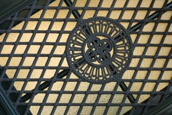 Some grates have inherent beauty suited to reuse as wall decor.