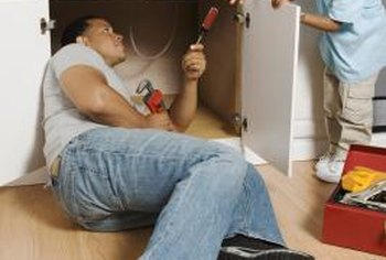 Homeowners can repair most plumbing clogs and leaks themselves.
