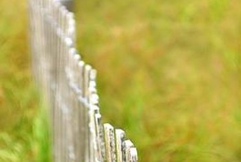 Trenched fences are effective at repelling both jumping and burrowing pests.