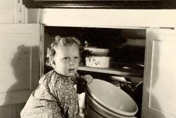Cupboards and cabinets may change over time, but curiosity remains the same.
