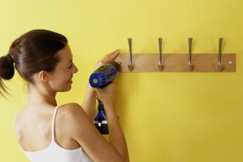 Spice up a hat rack by switching out the hardware.