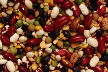 Beans are a rich source of fiber.