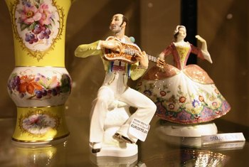Meissen has been making hard-paste porcelain figurines for over 300 years.
