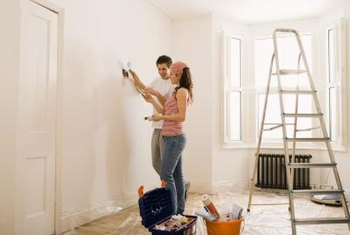 Preparing a wall for paint can be a multistep process.