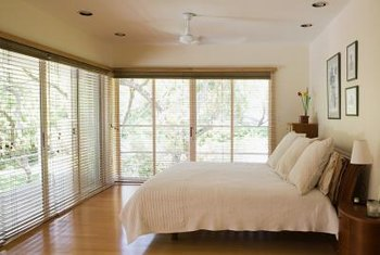 For a room with numerous windows, opt for easy-to-operate blinds.