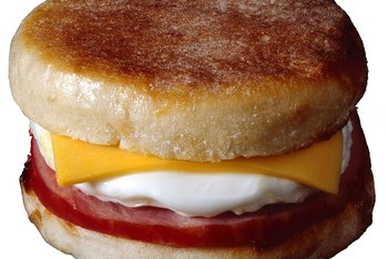 English muffins are perfect for breakfast or lunch sandwiches.