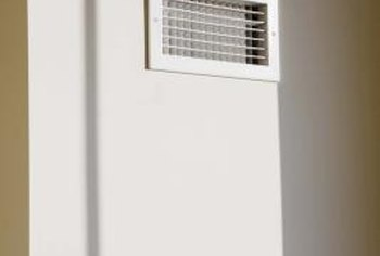 Make sure the return grilles for your air conditioner aren't blocked.