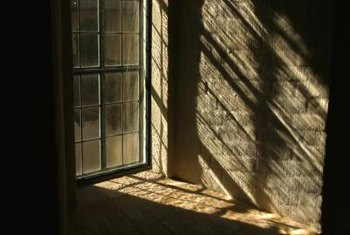 Older windows are especially prone to leaking cold.