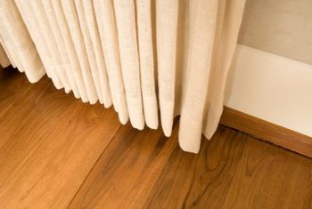 Baseboards put the finishing touch on a room.