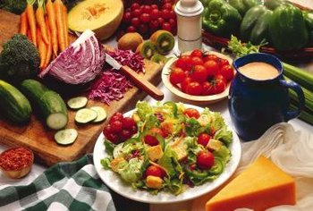Fruits and vegetables are naturally fat free and loaded with nutrients that help fight heart disease.