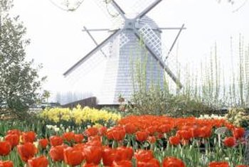 Smaller Versions Of This Wooden Windmill Add Interest To Your Lawn Or Garden .