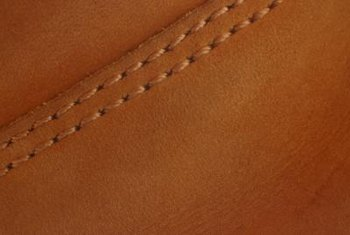 Careful repair helps prevent further damage to leather goods.