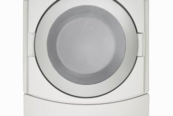 Stains on the inside of a dryer can transfer to your laundry.