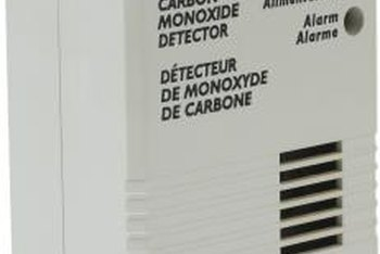A carbon monoxide detector can alert people in a home when dangerous carbon dioxide is present.