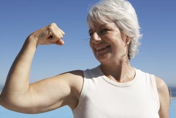 Whey protein may help elderly adults combat sarcopenia.